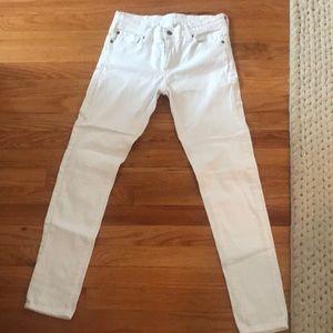 Ralph Lauren White Skinny Jeans size 28